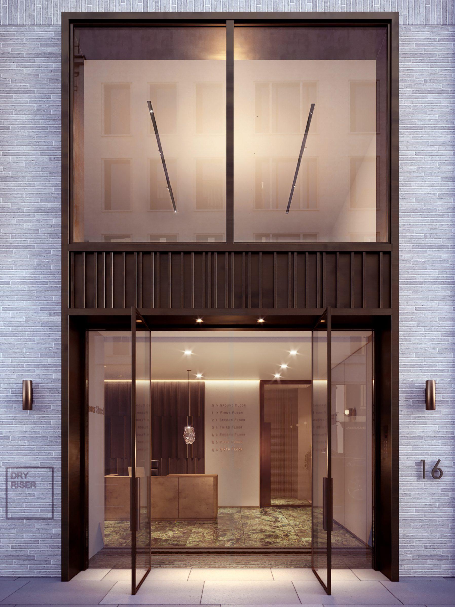 16 Hanover Street・London